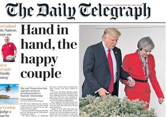 How the Daily Telegraph reported the Presidential-PM