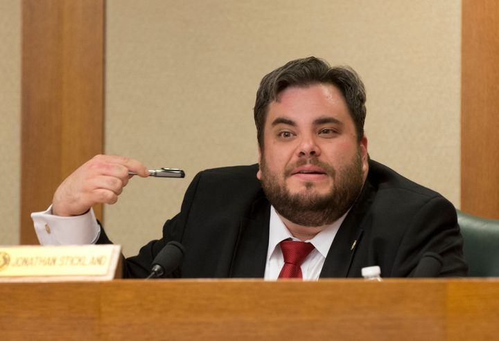 Texas state Rep. Jonathan Stickland has sponsored a measure to eliminate permitting requirements to carry a conceal