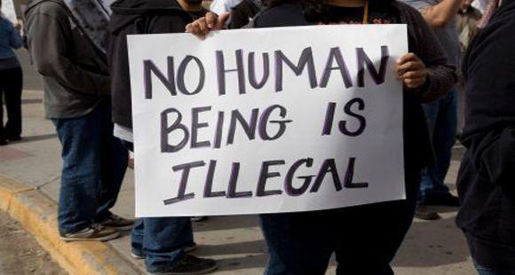 """<em>Protest Sign from an Immigration Rally / </em><a rel=""""nofollow"""" href=""""https://longislandwins.com/news/national/no-hu"""