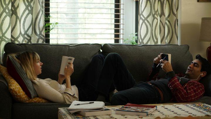 """Zoe Kazan and Kumail Nanjiani play a couple navigating cultural divides in """"The Big Sick."""""""
