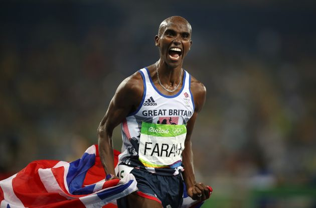 Mo Farah lives in the