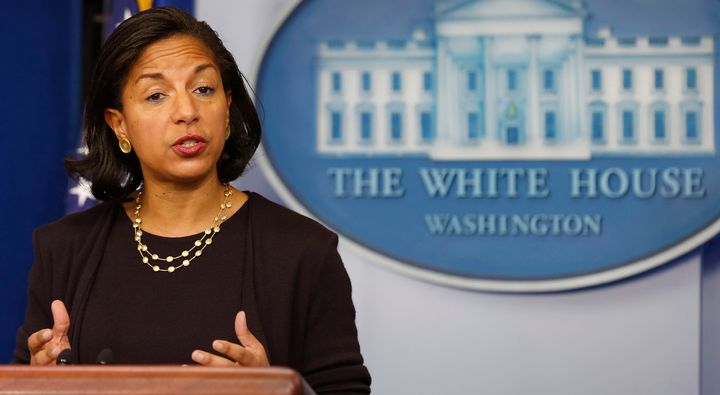 Susan Rice served as national security adviser under President Barack Obama.