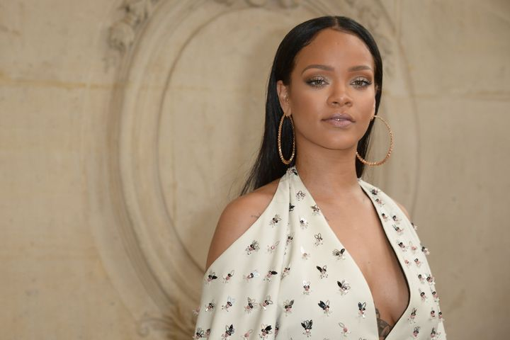 "Rihanna said she was ""disgusted"" by Trump's attempt to ban refugees from entering America."
