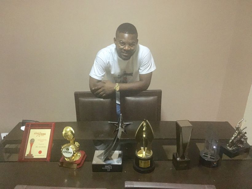 There are few Nigerian entertainment awards Falz has not yet won. Some of his collection on display for us.