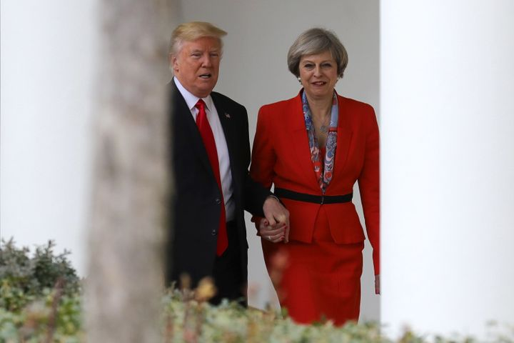 U.S. President Donald Trump and British Prime Minister Theresa May met late last week in Washington.