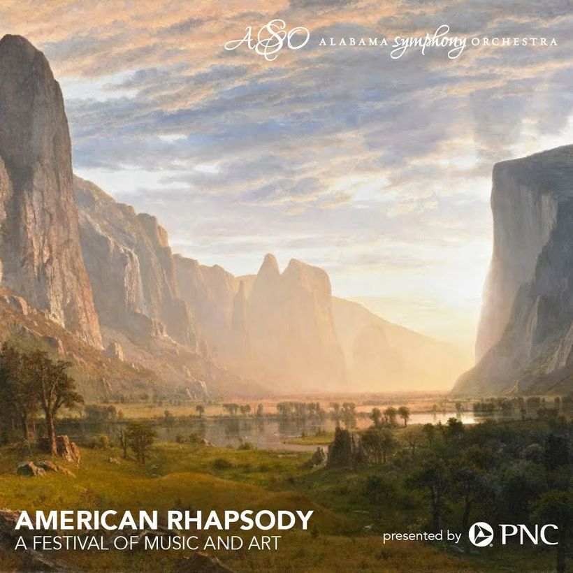 Image courtesy Alabama Symphony Orchestra and Birmingham Museum of Art. Painting by Albert Bierstadt.