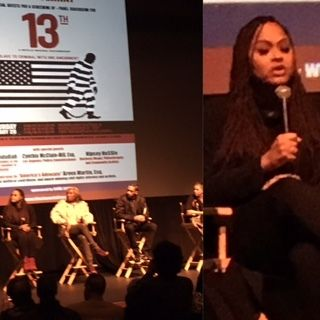 """""""13th"""" Screening and Panel Discussion at Nate Holden Performing Arts Center, Los Angeles, CA"""