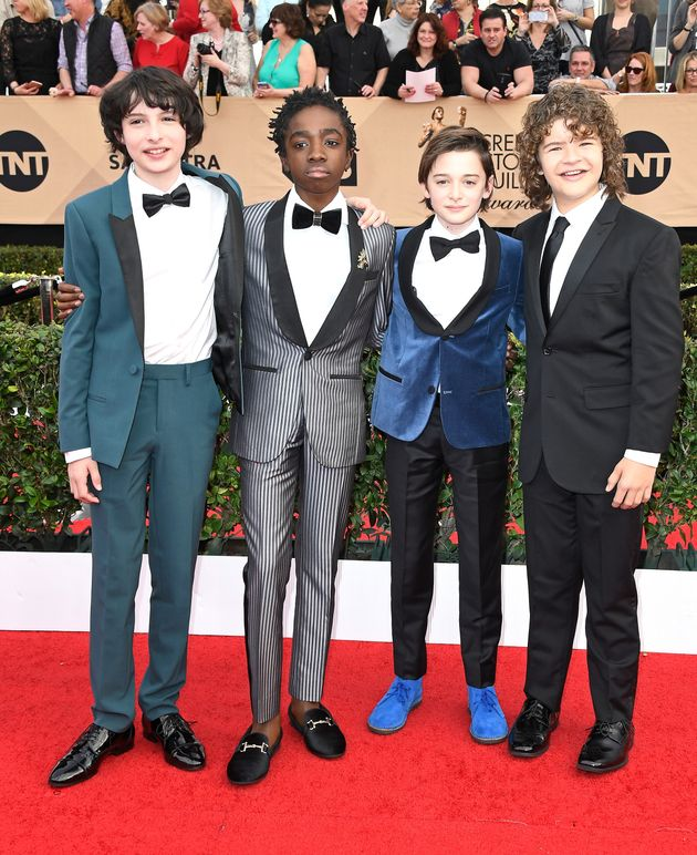 03579c08ea6ac The 'Stranger Things' Kids Were The Epitome Of 'Squad Goals' At The ...