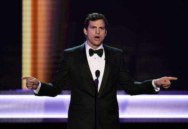 Ashton Kutcher Opens SAG Awards By Calling Out Trump's Immigration