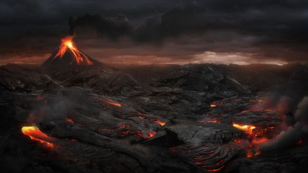 Scientist Reveal The Cause Of The Biggest Volcanic Eruption In Human