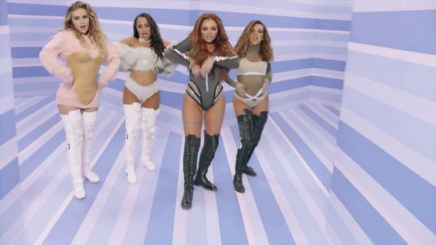 Little Mix Fans Are NOT Happy About 'Disgusting Photoshopping' Of Jesy Nelson In 'Touch'