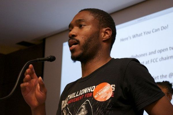 "Dante Barry is a grassroots organizer and founder of the <a href=""http://millionhoodies.net/"" target=""_blank"">Million Hoodies"