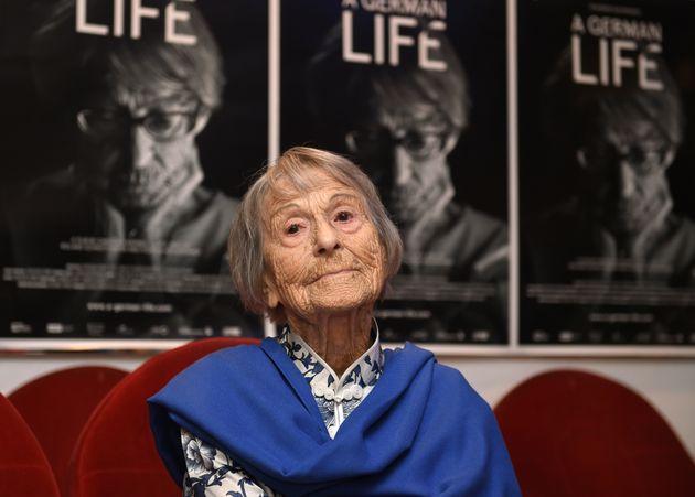 Nazi propaganda chief's secretary dies at 106