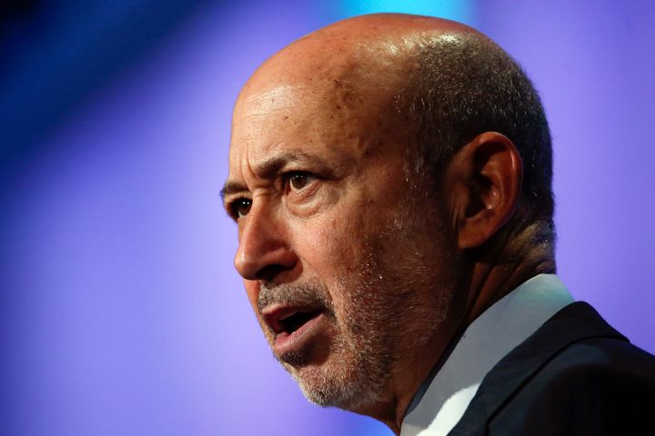 "Goldman Sachs CEO Lloyd Blankfein said Donald Trump's ban on certain immigrants is ""not a policy we support."""
