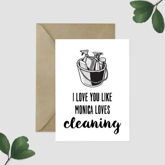 "Buy it <a href=""https://www.etsy.com/listing/259070768/friends-tv-show-greeting-card-i-love-you?ga_order=most_relevant&ga"