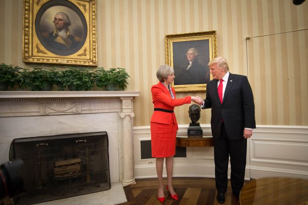 May and Trump in the Oval