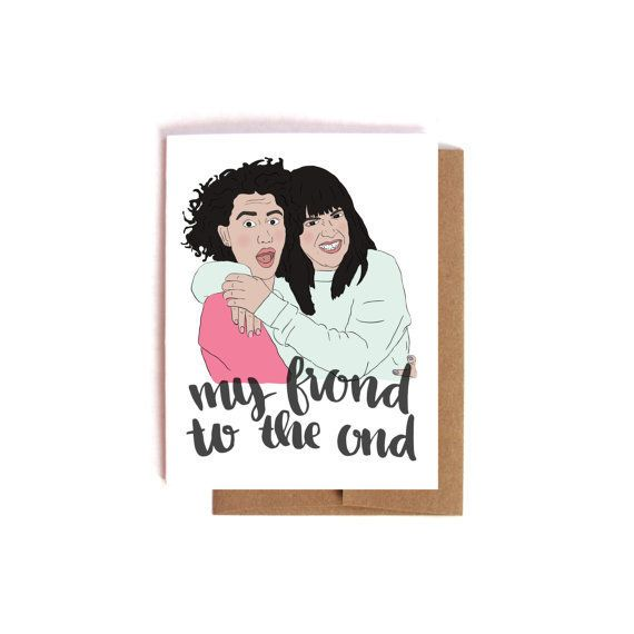 "Buy it <a href=""https://www.etsy.com/listing/473738098/my-frond-to-the-ond-illana-glazer-abbi?ref=shop_home_active_20"" target"