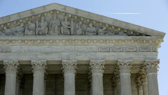 The U.S. Supreme Court building facade is pictured in Washington, DC, U.S. on March 29, 2016.  REUTERS/Gary Cameron/File Photo