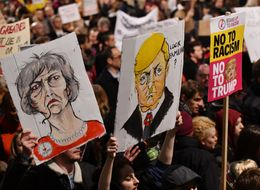 In Pictures: Donald Trump Protests In London, Edinburgh, Cardiff And Across UK