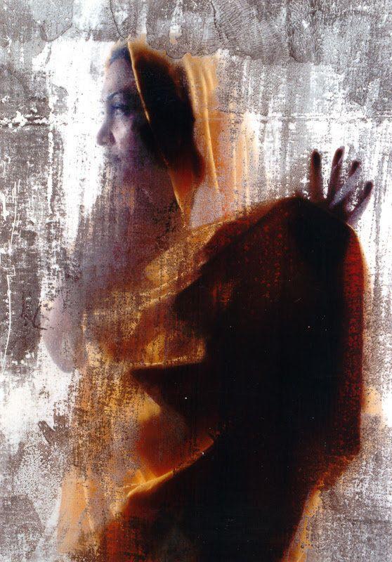 "Shadi Ghadirian. ""Be Colorful"" (2002), archival digital pigment print, 35.5 x 23.625 inches."