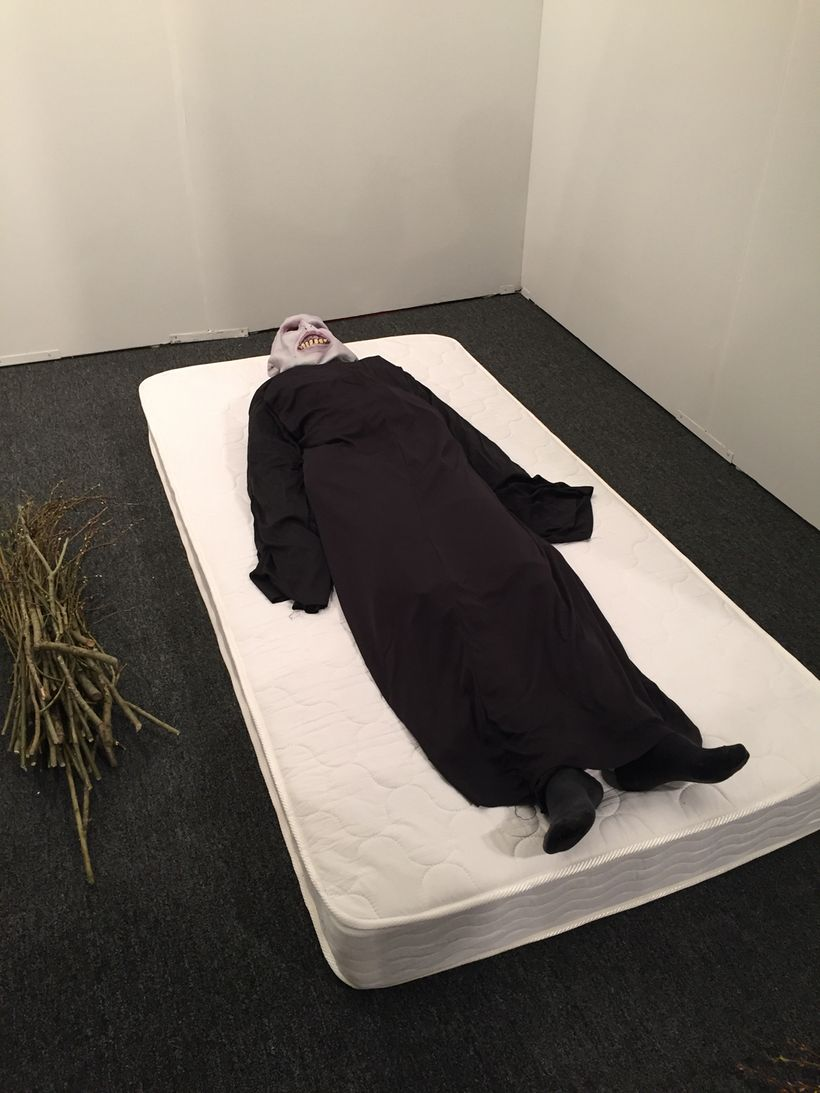 Puppies Puppies 2017, <em>Voldermort, </em>performance at Art Los Angeles Contemporary