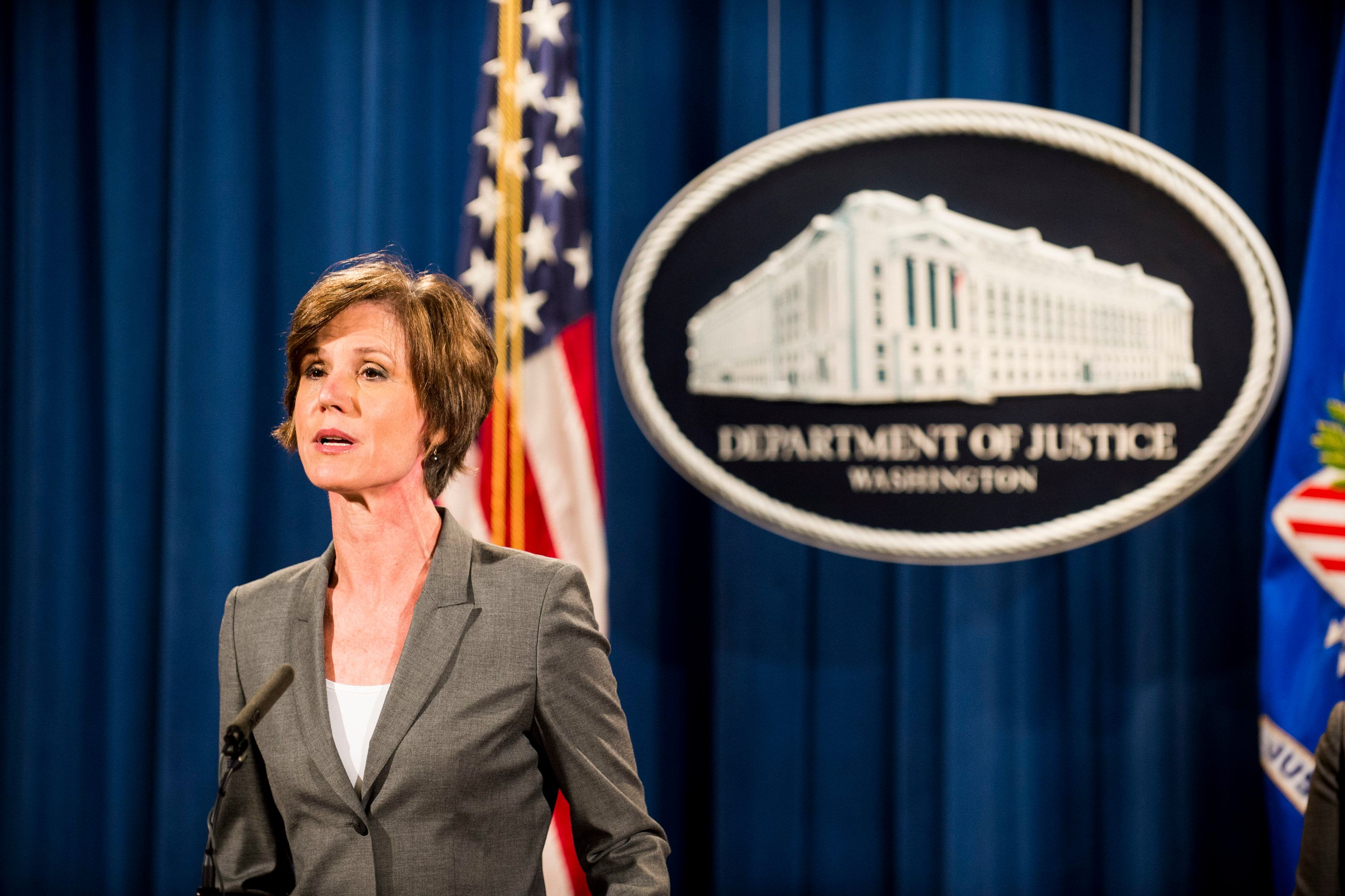 Former Acting and Deputy Attorney General Sally Q. Yates.