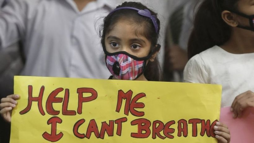 Letting Carbon levels rise to 450 ppm, and in turn denying children the right to clean air and water, is a violation of The P