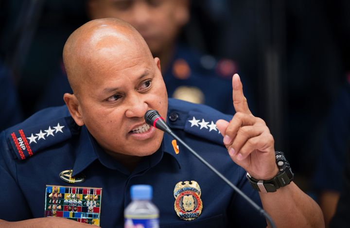 "Ronald Dela Rosa, the head of the Philippine National Police, has vowed to ""cleanse"" police ranks of corruption."