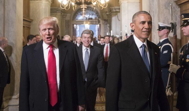 Barack Obama has spoken out against Donald Trump's Muslim refugee