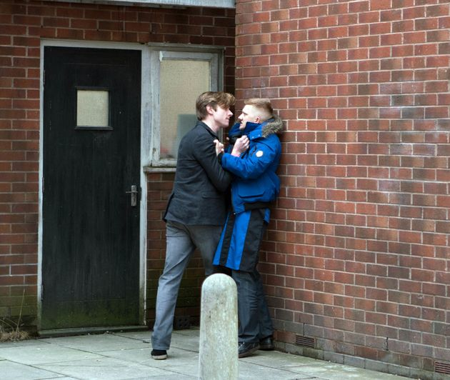 The confrontation leaves Chesney
