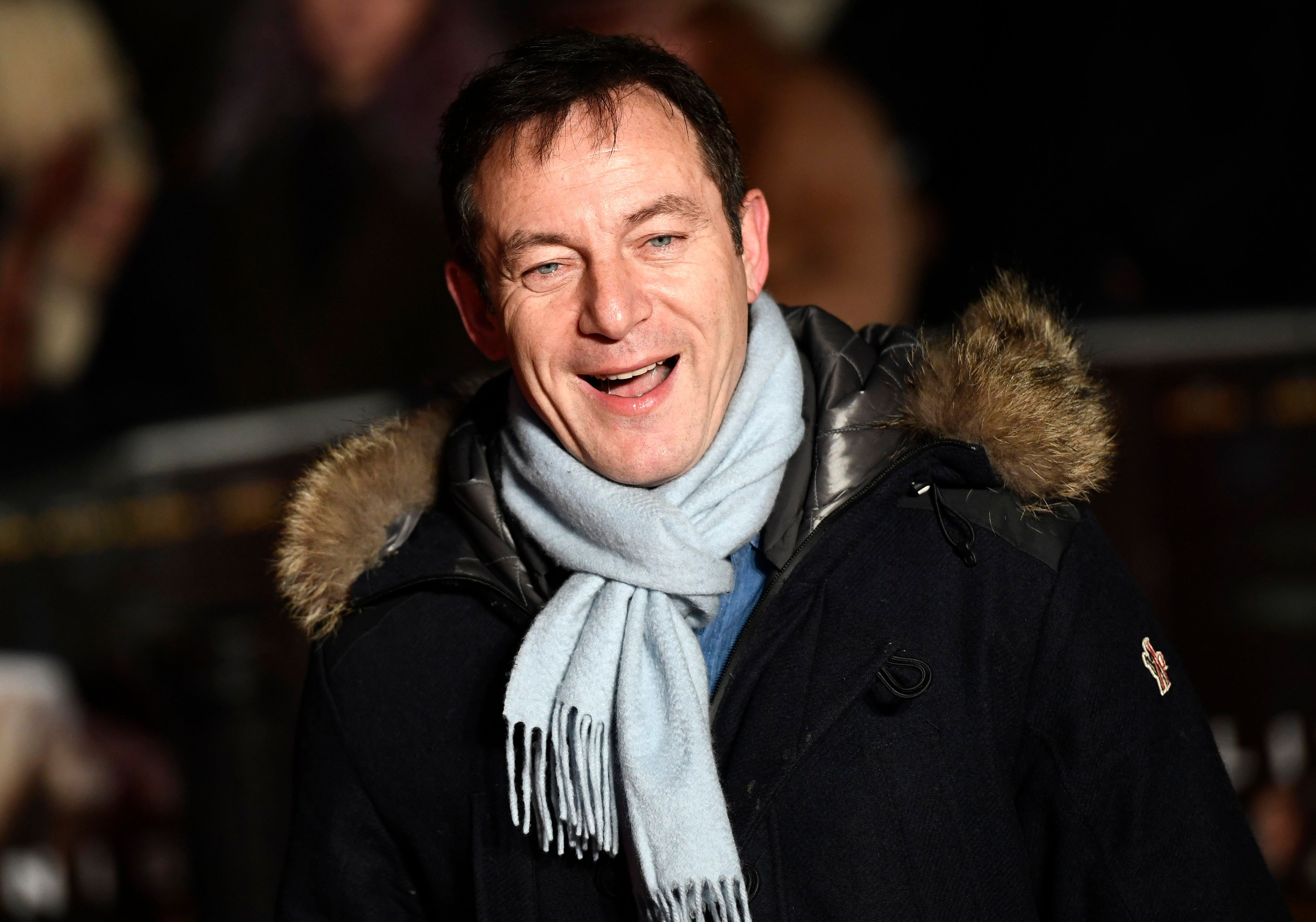 Jason Isaacs arrives at the European Premiere of Live by Night at the British Film Institute in London, Britain January 11, 2017. REUTER/Dylan Martinez