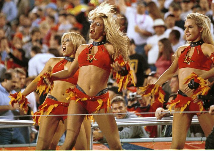 In the XFL, cheerleaders were just as much a part of the game -- if not more so -- than the game itself.