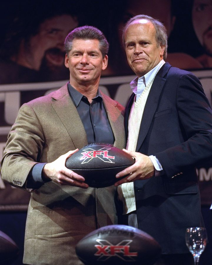 McMahon (left) and Dick Ebersol remain best friends to this day.