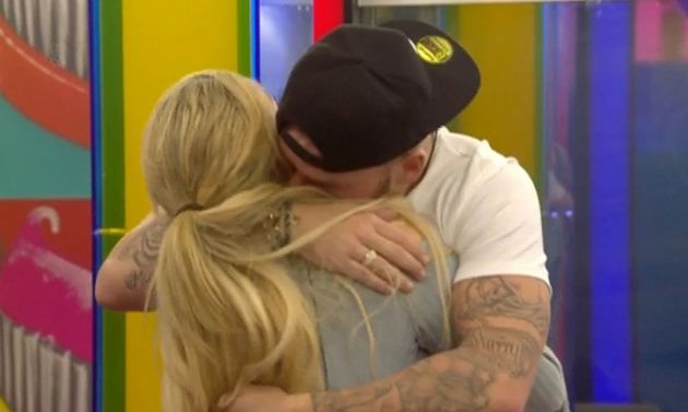 Jamie left the house in a shock elimination earlier this