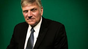 WASHINGTON, DC - NOVEMBER 13: Franklin Graham, religious leader and son of Billy Graham, during our interview on November, 13, 2012 in Washington, DC. (Photo by Bill O'Leary/The Washington Post via Getty Images)