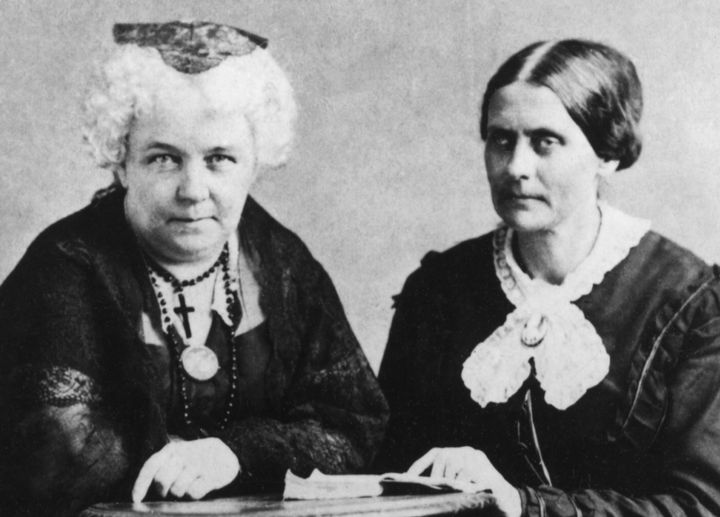 The Girl Scouts are raising awareness around a fund to put statues of Elizabeth Cady Stanton and Susan B. Anthonyin Cen