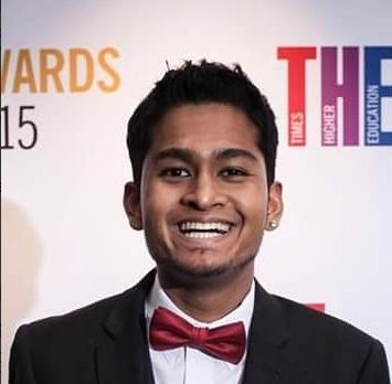 Student union president Raj Jeyaraj says he has received death threats since taking on the