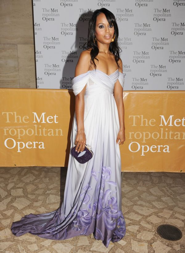 At opening night at The Metropolitan Opera House on Sept. 27