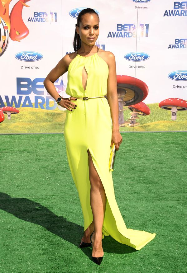 At the 2011 BET Awards at The Shrine Auditorium on June 26