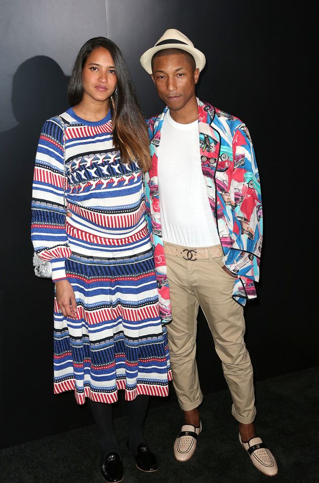 Pharrell Williams And Wife Helen Lasichanh Welcome
