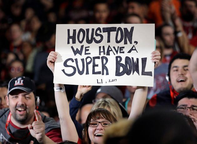 Super Bowl LI is coming in Houston... and a TV screen near