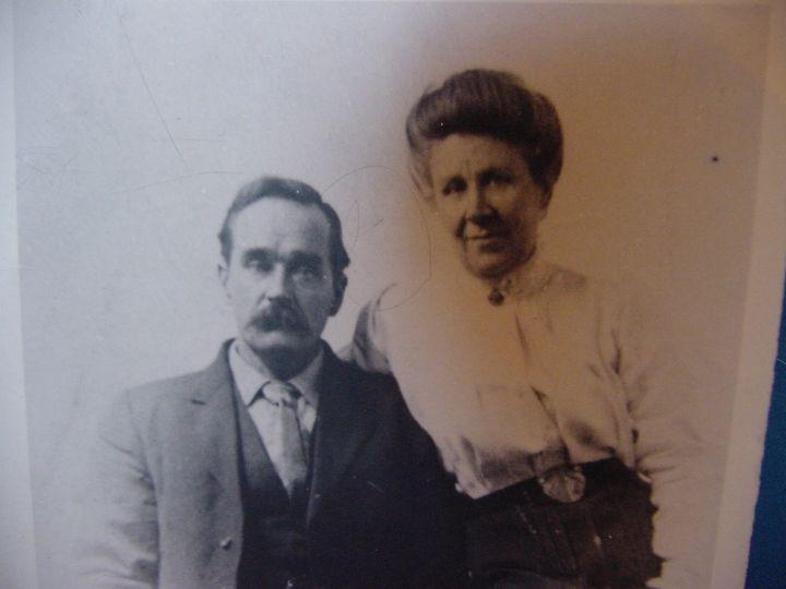 Jennie Tarleton with her second husband, John Murray