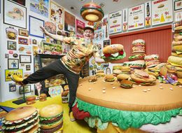 'Meat' Hamburger Harry, The Guy Who Turned His Home Into A Burger Shrine