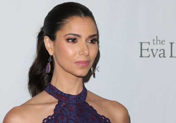 "Thanks to Lifetime's ""Devious Maids,"" Roselyn Sanchez knows all about crime and, well, deviousness. But the actress also had"
