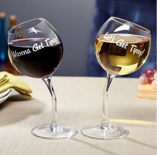 "In wine there is truth, and a lot of wobbling around if you drink too much. These <a href=""http://www.kohls.com/product/prd-2"
