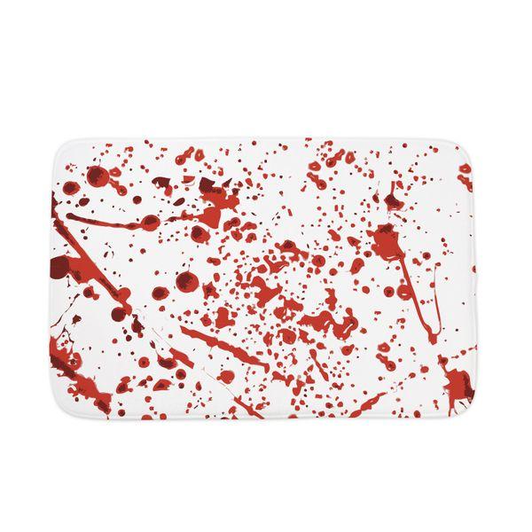 """A conversation we'd like to hear: """"I got you a <a href=""""http://www.cafepress.com/+blood_splatter_bathmat,1665878017"""" target="""""""