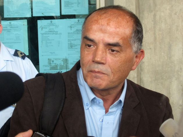 Goncalo Amaral outside the Palace of Justice in