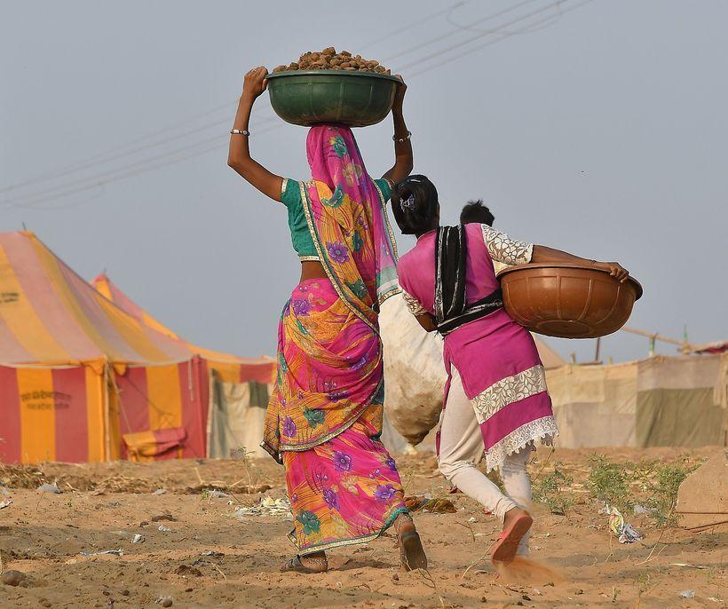 Scenes<em> at the Pushkar Camel Fair</em>