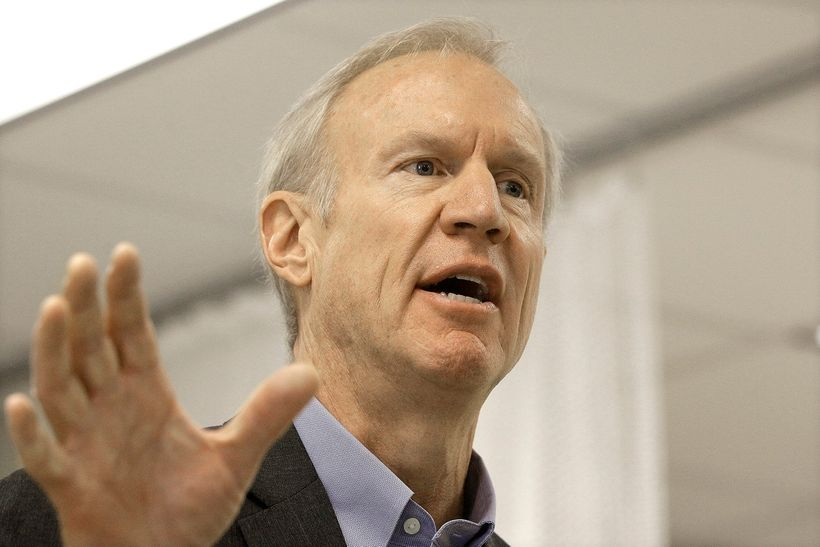 Illinois Gov. Bruce Rauner (R) could face Democrat J.B. Pritzker in 2018 — someone who's even wealthier than Rauner.
