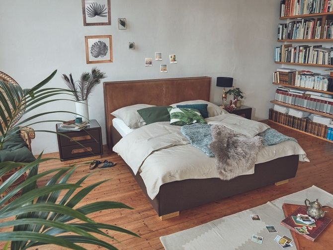 <p>Birkenstock's Canberra bed.</p>